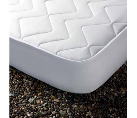 Cubre colchón acolchado Zafir reversible tela/tela