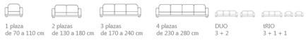 medidas fundas sofá